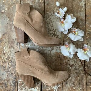 Vince Camuto Leather Hadrien Ankle Bootie